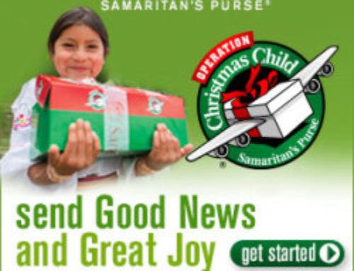 Operation Christmas Child Shoebox Project at Sedona UMC