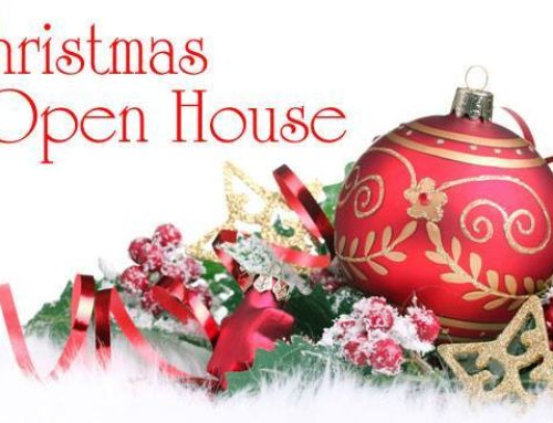 Christmas Open House & Soup Luncheon on Sunday, December 16th