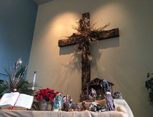 O Come, Let us Adore Him!  Christmas Eve Worship starts at 6:00pm at Sedona UMC