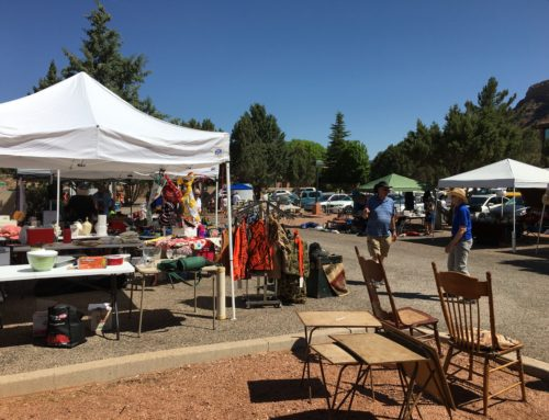 Vendors Needed for Huge Community Parking Lot Sale at Sedona UMC 4/13/19