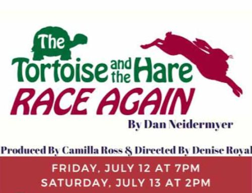 "ETC ""The Tortoise & the Hare Race Again"", at Sedona UMC 7/12/19 and 7/13/19"