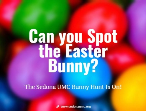 The Hunt is ON!  Can you Spot the Easter Bunny?