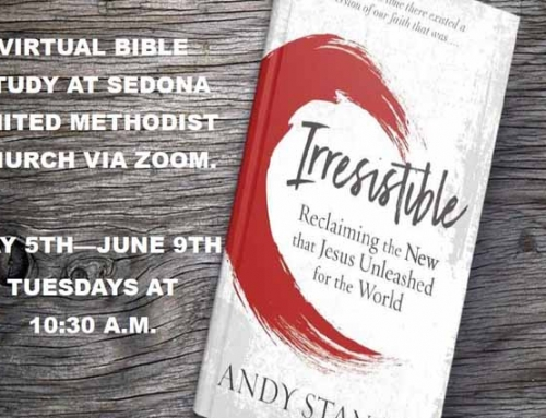 "New ""Irresistible"" Bible Study Begins May 5 through June 9, 2020"