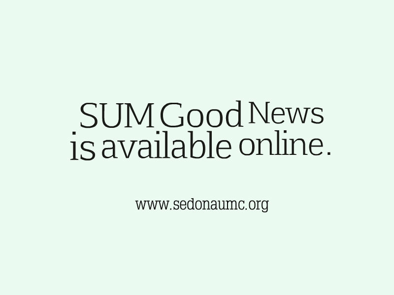 August SUM Good News is now available online