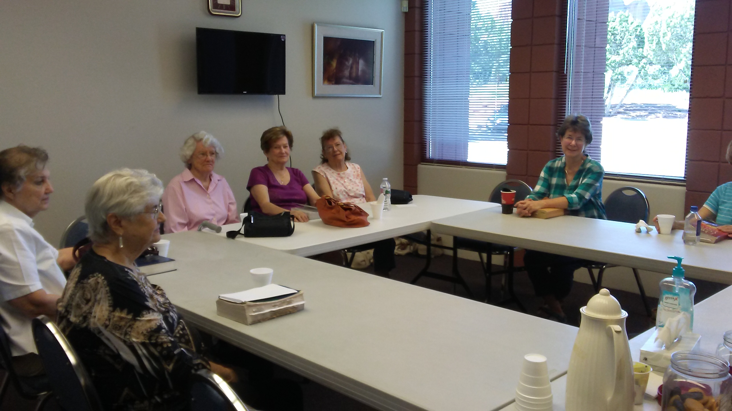 August Photo for the Day — Ladies Bible Study Group