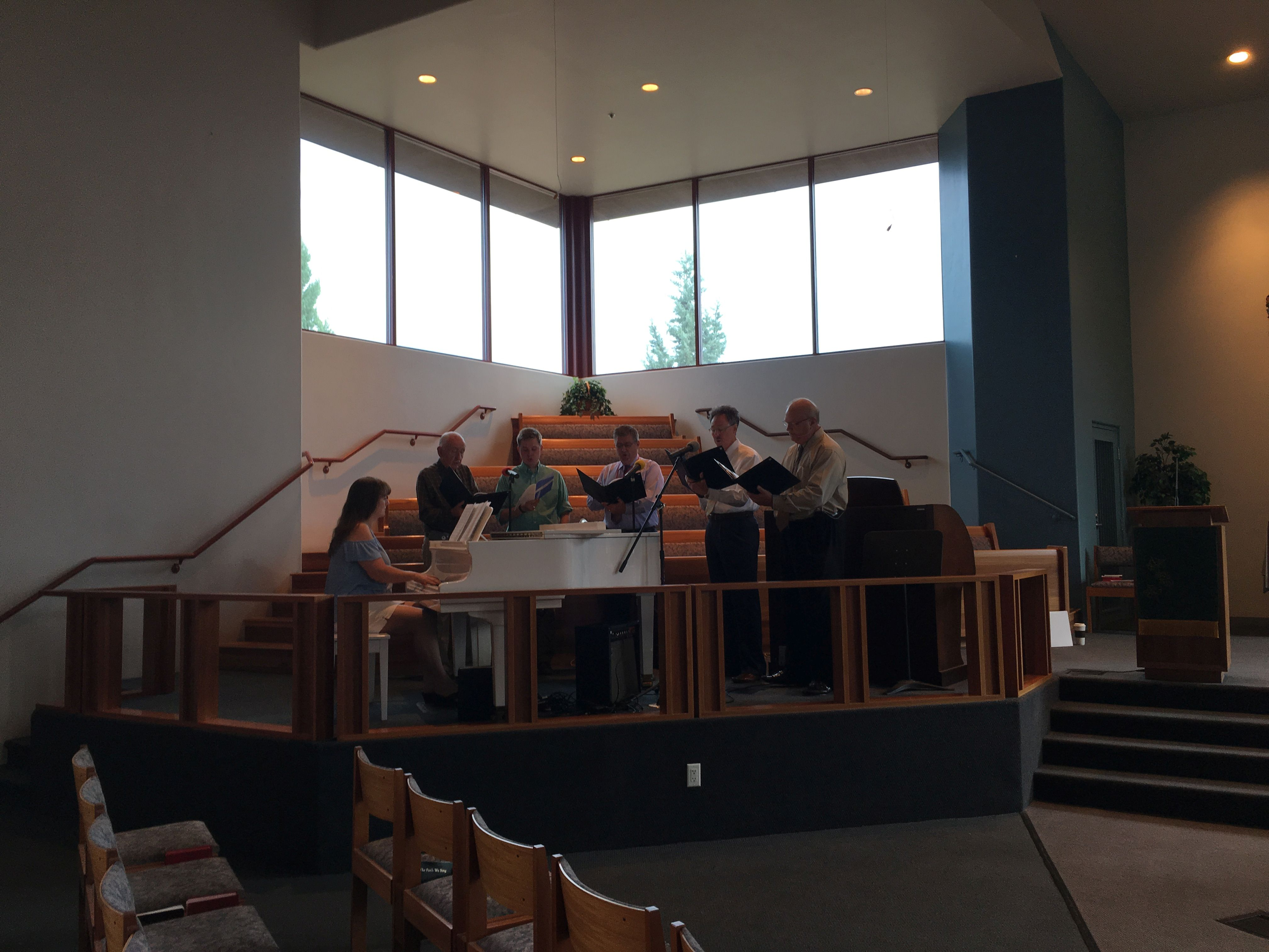 August Photo for the Day —  The SUMC Gaithers
