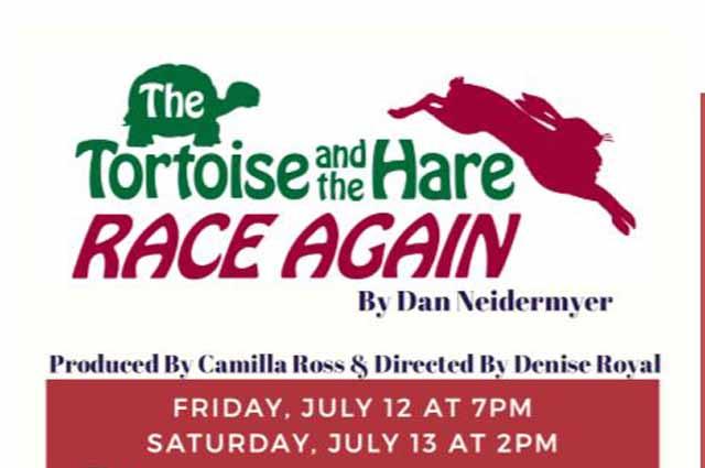 "ETC ""The Tortoise & the Hare Race Again"", at Sedona UMC 7/12/19 and 7/13/19"