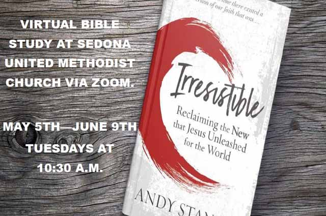 "New ""Irresistible"" Bible Study Begins May 5 through June 9, 2020"
