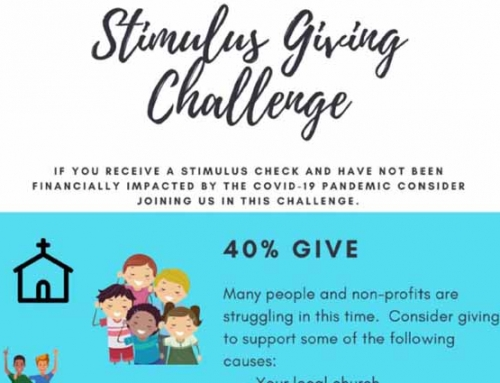 "Join in the ""Stimulus Giving Challenge"""