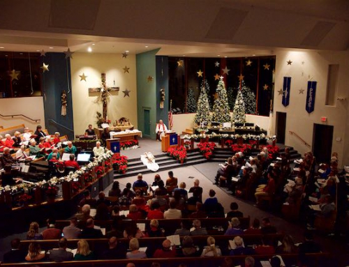 """Jesus Saves"" at Sedona United Methodist Church at 9:30am"