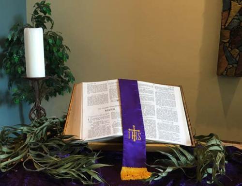 Palm Sunday at Sedona United Methodist Church 9:30am 3/28/2021